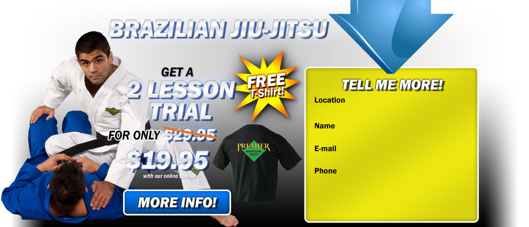 BJJ and Kickboxing  2 lesson trial for $19.95!