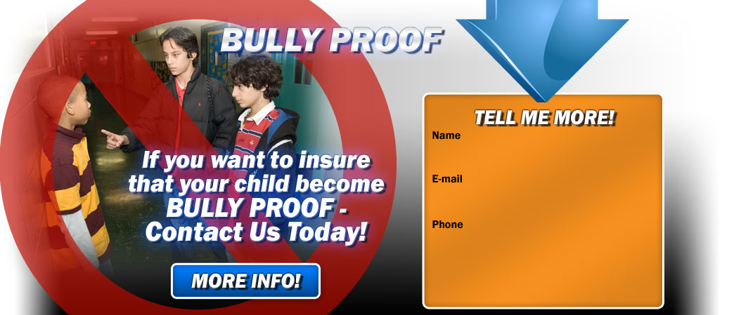 Bully Proof seminar helps kids with stress, anixety, depression, sleeplessness, fatigue, tearfullness, irritability.