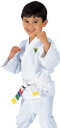 Kids Martial Arts Decatur classes get a free uniform when you sign up.