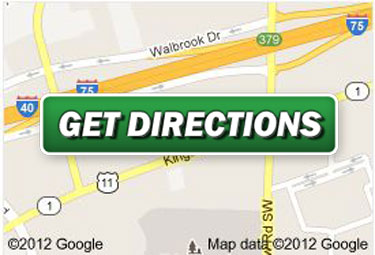 Directions to Premier Martial Arts Memphis School.